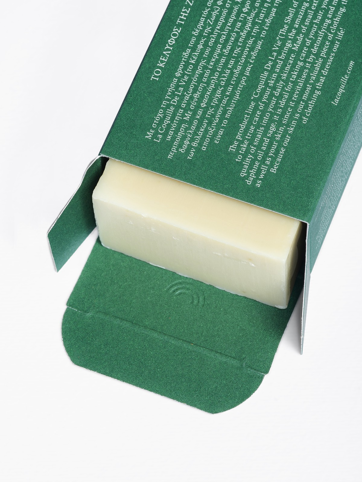 Snail secretion, Daphne oil & Sage Soap bar